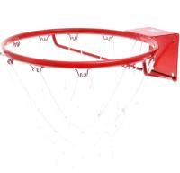 Баскетбольное кольцо No Brand КБ71 №7 с сеткой (d 450мм) -