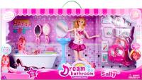 Комплект аксессуаров для кукольного домика Darvish Ванна мечты / DV-T-386 -