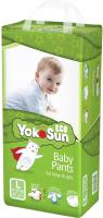 Подгузники-трусики детские YokoSun Eco L от 9 до 14кг (44шт) -