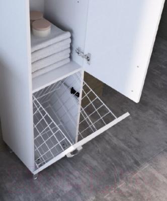 Шкаф-пенал для ванной Ювента БфШП-190 (черный)