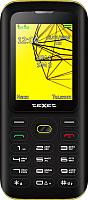 Мобильный телефон Texet TM-517R (черный/желтый) -