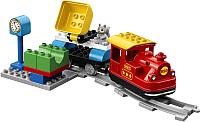 Конструктор электромеханический Lego Duplo Паровоз Поезд на паровой тяге 10874 -