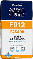Шпатлевка Sniezka Acryl Putz FD12 Фасад (20кг) -