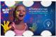 Пальчиковые краски Roxy-Kids Флуоресцентные / RPF-003 -