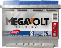 Автомобильный аккумулятор Senfineco Megavolt Premium R+ SMP/12V75Ah/R -