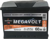 Автомобильный аккумулятор Senfineco Megavolt L+ 1158L/60-L2 -