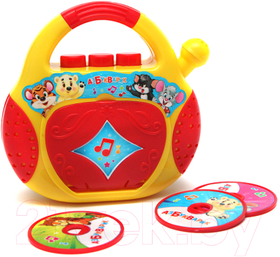 Фото - Музыкальная игрушка Азбукварик Песенки-Чудесенки. CD-Плеер / 2021 электронные игрушки азбукварик плеер мультяшка 2020