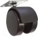 Колесо мебельное для стула Boyard N104BL/BL.3 (без тормоза) -