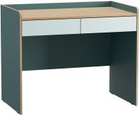 Письменный стол Mobi Гудвин 12.34 (бензин/гикори рокфорд натуральный/мята) -