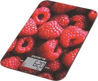 Кухонные весы Polaris PKS 1068DG (Raspberry) -