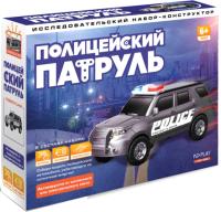Конструктор электромеханический ND Play Полицейский патруль / NDP-092 -