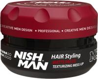 Паста для укладки волос NishMan M3 Mess Up матовая текстурирующая (100мл) -