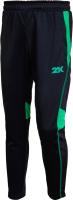 Брюки спортивные 2K Sport Vettore / 121325 (158, черный/зеленый) -
