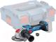 Профессиональная угловая шлифмашина Bosch GWX 18V-15 SC (0.601.9H6.500) -
