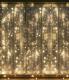 Световой занавес Twinkle Штора 073 (3х2м, желтый) -
