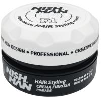 Крем для укладки волос NishMan F1 Fiber (100мл) -