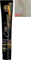 Крем-краска для волос Constant Delight Elite Supreme 12/1 (100мл, спец. блондин сандре) -