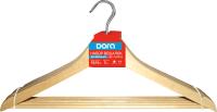 Набор вешалок-плечиков Dora 2009-011 (5шт, береза) -