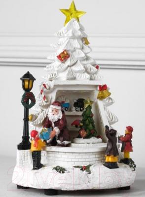 Фото - Световая фигурка Luazon Дети и Дед мороз 5133412 фигурка дед мороз m97 дед мороз пластик текстиль красный
