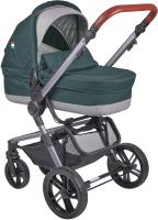 Детская универсальная коляска Farfello Zuma Duo Comfort 2 в 1 / ZDC-12 (изумрудный) -