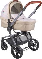 Детская универсальная коляска Farfello Zuma Duo Comfort 2 в 1 / ZDC-13 (бежевый) -