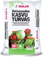 Грунт для растений Biolan Торф универсальный (50л) -