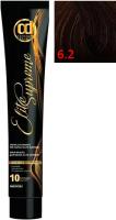 Крем-краска для волос Constant Delight Elite Supreme 6/2 (100мл, темный блонд пепельный) -