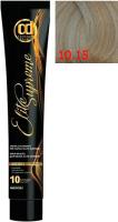 Крем-краска для волос Constant Delight Elite Supreme 10/15 (100мл, яркий блонд сандре золотистый) -