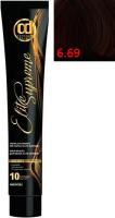 Крем-краска для волос Constant Delight Elite Supreme 6/69 (100мл, темный блонд шоколадно-фиолетовый) -