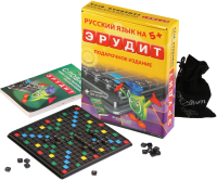 Настольная игра Биплант Эрудит RUS подарочный + словарь в подарок / 10008 -