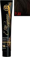 Крем-краска для волос Constant Delight Elite Supreme 7/22 (100мл, блонд интенсивно-пепельный) -