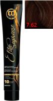 Крем-краска для волос Constant Delight Elite Supreme 7/62 (100мл, блонд шоколадно-пепельный) -