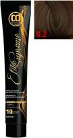Крем-краска для волос Constant Delight Elite Supreme 8/2 (100мл, светлый блонд пепельный) -