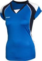Майка волейбольная 2K Sport Energy / 140042 (XXS, синий/темно-синий/белый) -
