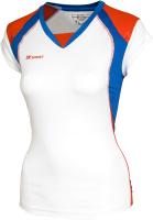 Майка волейбольная 2K Sport Energy / 140042 (S, белый/синий/красный) -