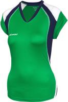 Майка волейбольная 2K Sport Energy / 140042 (S, зеленый/темно-синий/белый) -