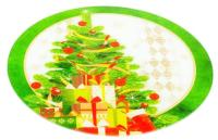 Блюдо для торта Zibo Shelley Новогодние подарки / S3012/2D Z120 -