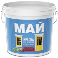 Краска Ярославские краски Май для потолков (6кг, белый) -