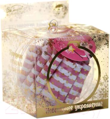 Шар новогодний Зимнее волшебство Самые теплые пожелания / 5005121