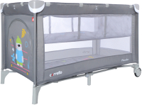Кровать-манеж Carrello Piccolo Plus CRL-11605 (Ash Grey) -