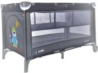 Кровать-манеж Carrello Piccolo Plus CRL-11605 (Magnet Grey) -