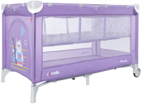 Кровать-манеж Carrello Piccolo Plus CRL-11605 (Orchid Purple) -