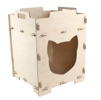 Домик для животных Woody Кошкин дом. Основа / 06138 -