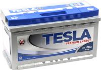 Автомобильный аккумулятор TESLA Premium Energy R низкий / TPE100.0 (100 А/ч) -