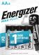 Комплект батареек Energizer Max Plus E91/AA BP4 / E301325002Н -