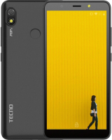 Смартфон Tecno Pop 3 1/16GB / BB2 (Sandstone Black) -