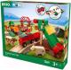 Железная дорога игрушечная Brio Сельское поселение с поездом / 33984 -