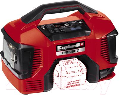 Автомобильный компрессор Einhell Pressito 4020460