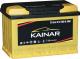Автомобильный аккумулятор Kainar L+ / 077 11 20 02 0121 10 11 0 R (77 А/ч) -