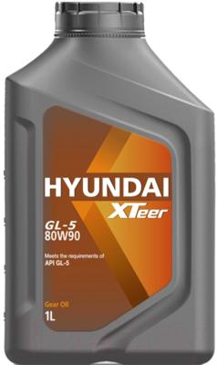 Трансмиссионное масло Hyundai XTeer Gear Oil-5 80W90 / 1011017 (1л)